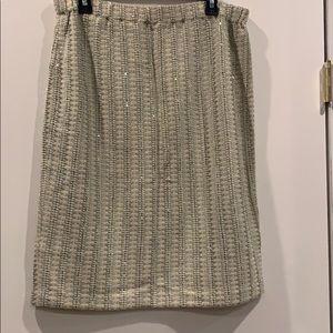 Beautifully embellished St. John Knit